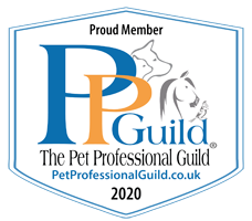 Proud Member of the Pet Profressional Guild Logo 2020